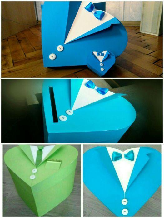 Кутия за дрехи/подарък за кръщене, бал, абитуриент, изписване на бебе