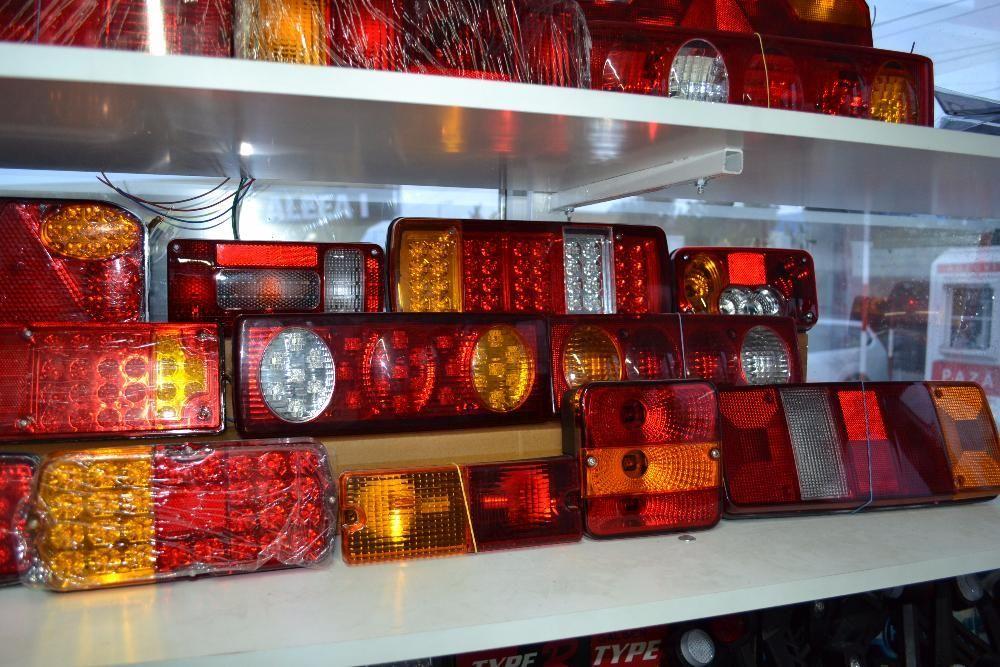 Lampi de STOP lampa triple camion remorca TIR - Lampi de gabarit LED Bucuresti - imagine 7