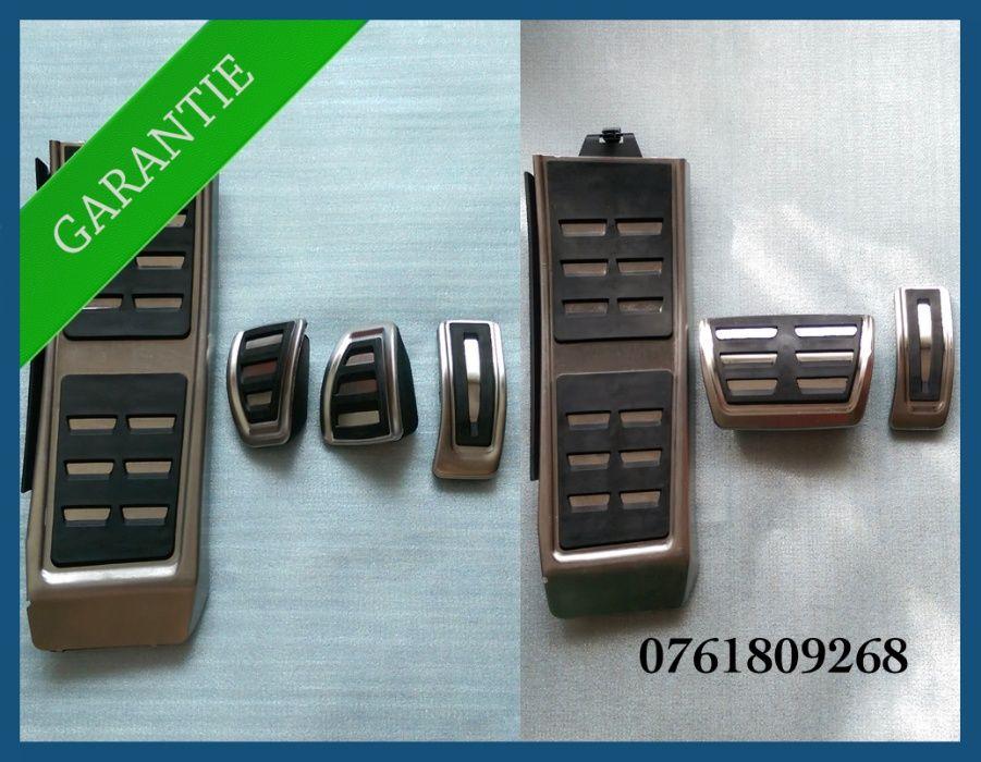 Pedale / ornamente inox + footrest Audi A4 B8 / A5 / A6 4G / A7 / Q5
