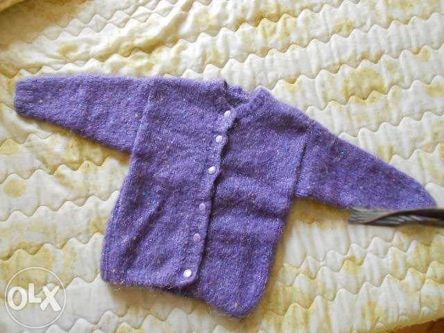 Нови детски жилетки -ръчно изплетени