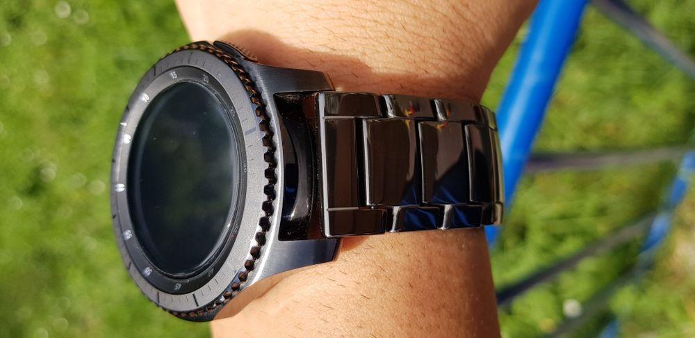 Samsung gear S3, Galaxy watch 46mm керамична верижка