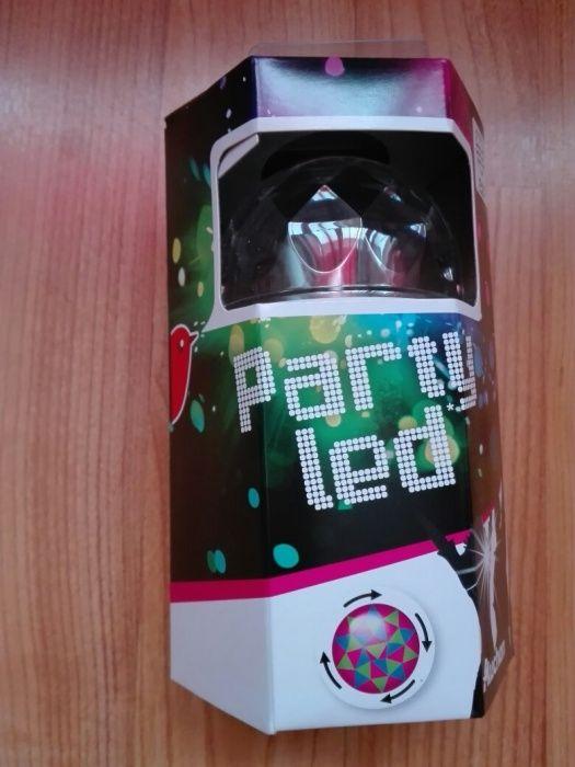 Bec Disco cu led RGB