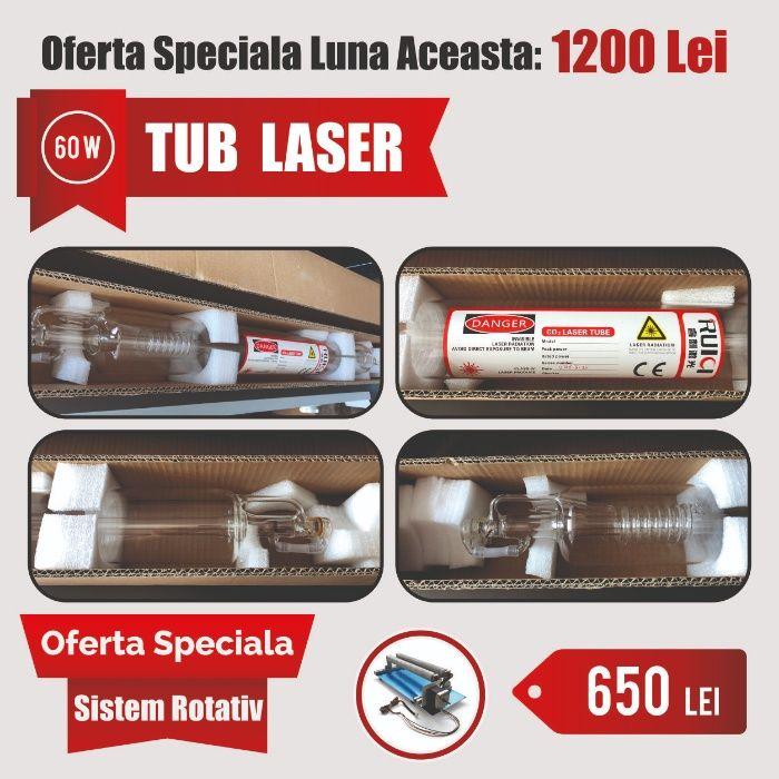 Tub Laser - CO2 tub gravator laser 60W
