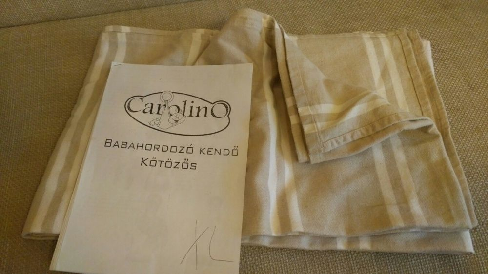 Portbebe ( wrap tesut ) Carolino