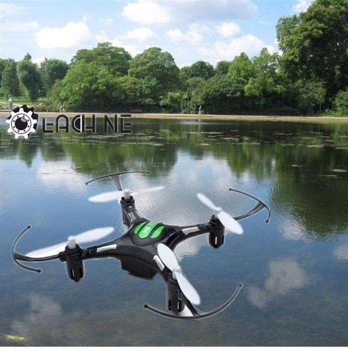 Drona mini H8, telecomanda 2.4G, 6 axe, functie de rotire 360 grade