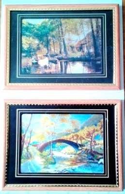 Set 2 tablouri 19,5 x 14,5 cm