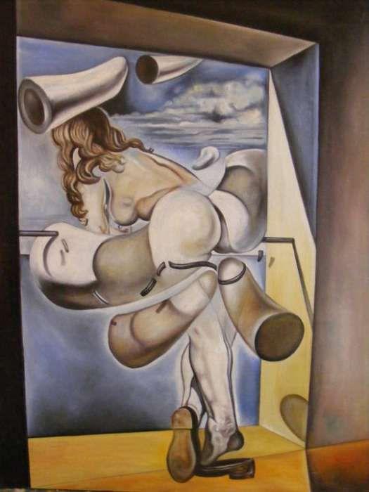 tablou reproducere Dali Timisoara - imagine 1
