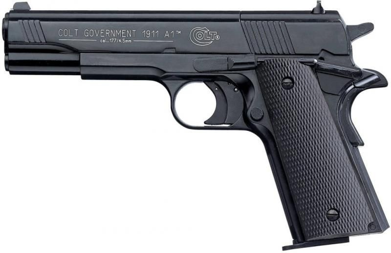 Replica Pistol Modificat Airsoft Colt 1911 CO2 UMAREX *Varianta 3.5J*