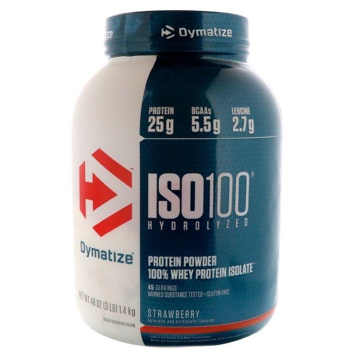 Dymatize Nutrition, ISO 100, изолят, гидролизат, протеин