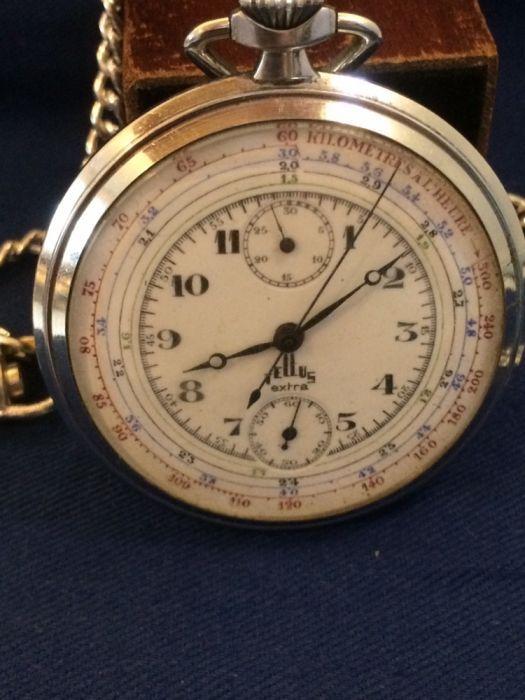 Ceas Tellus Extra Chronograph,Rolex Movment.colectie