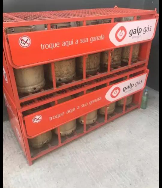 Botijas de gas
