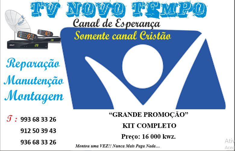 Kit TV Novo Tempo. Reparação, Manutenção, Montagem