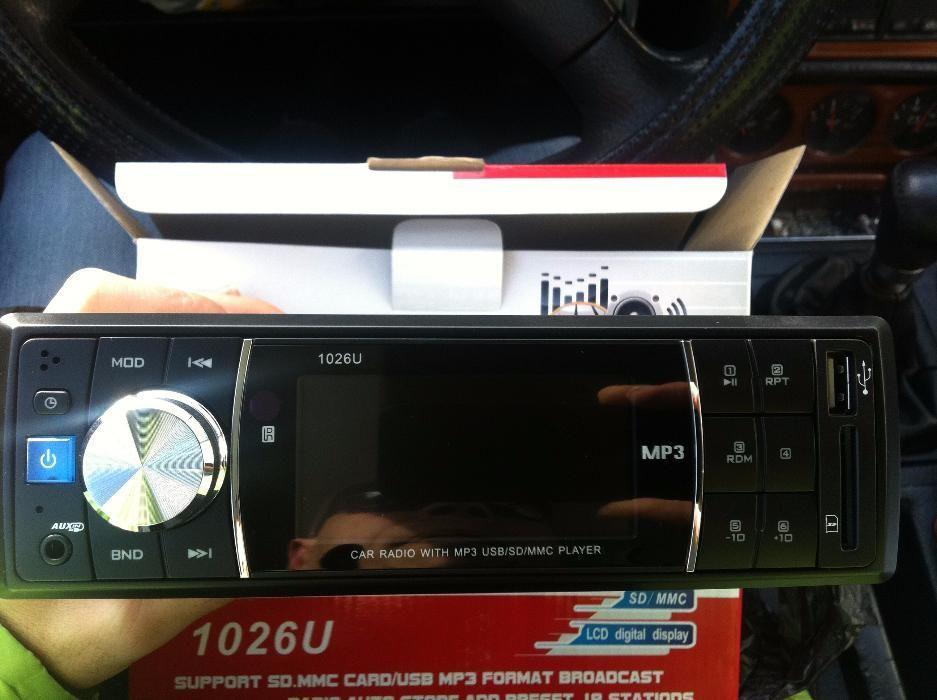 Промо Цена Качествена Музика за кола Ден - 1026u с Мп3, Радио, Usb, Au
