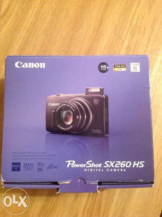 Продаю фотоаппарат Canon PowerShot SX260 HS