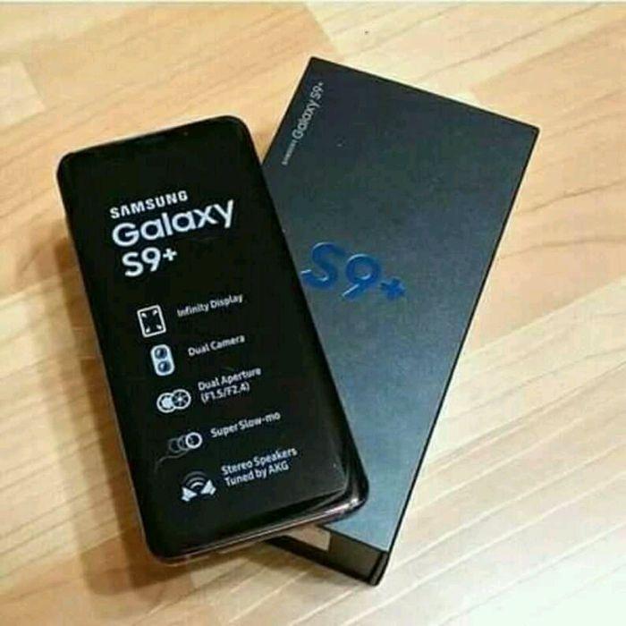 Samsung galaxia s9+disponivel