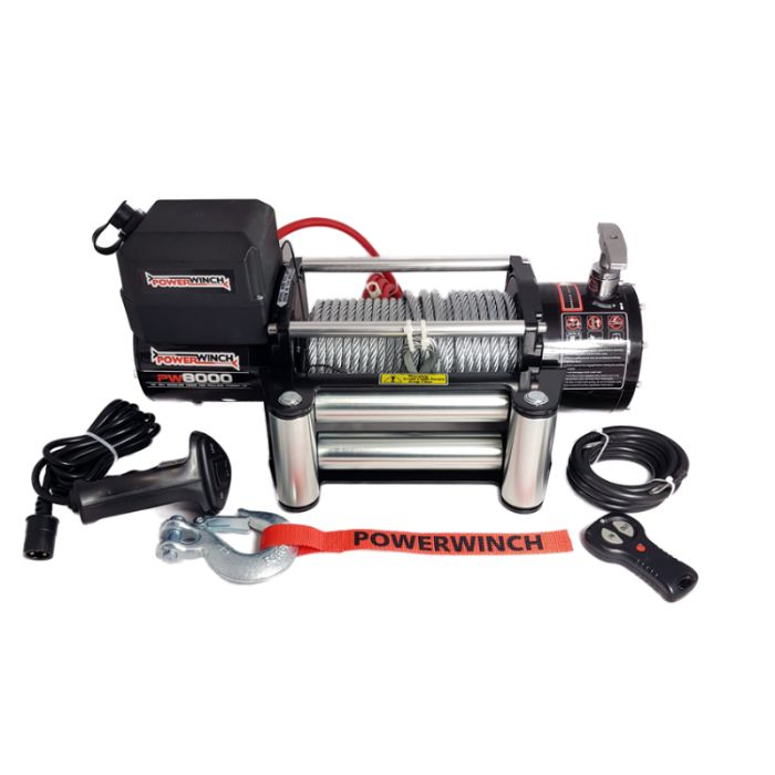 "Troliu PW 8000 E 12V ""PowerWinch""- NOU"