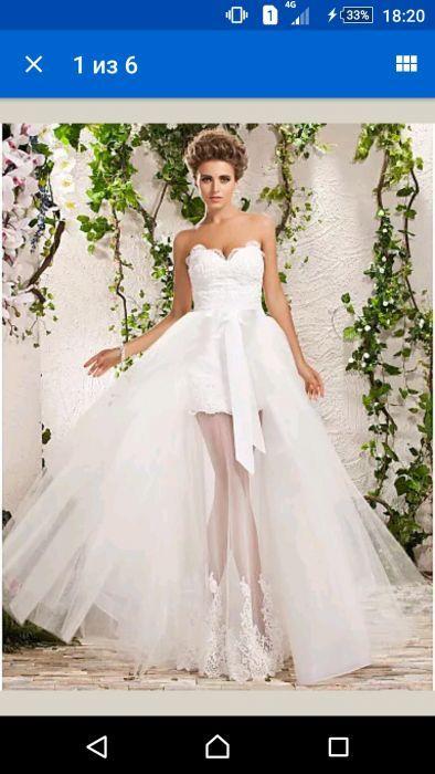 Свадебное платье трансформер новое