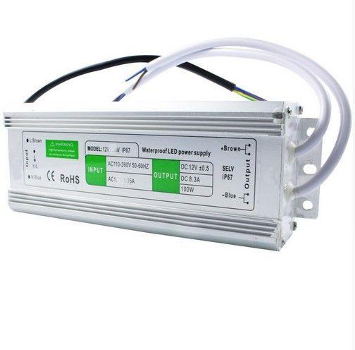 Герметичный влагостойкий блок питания импульсный 12 вольт 150W ip67