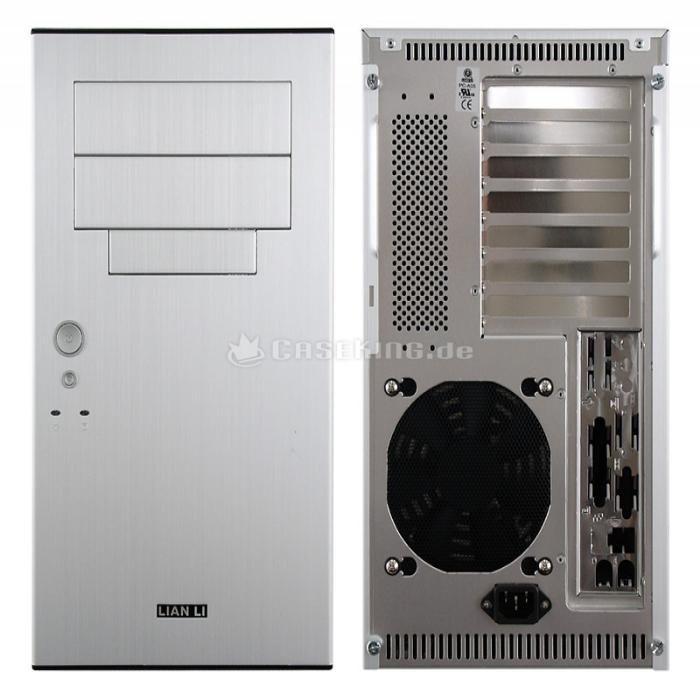 Gabinete ATX Case Barebone Lian-Li PC-A05 Aluminium