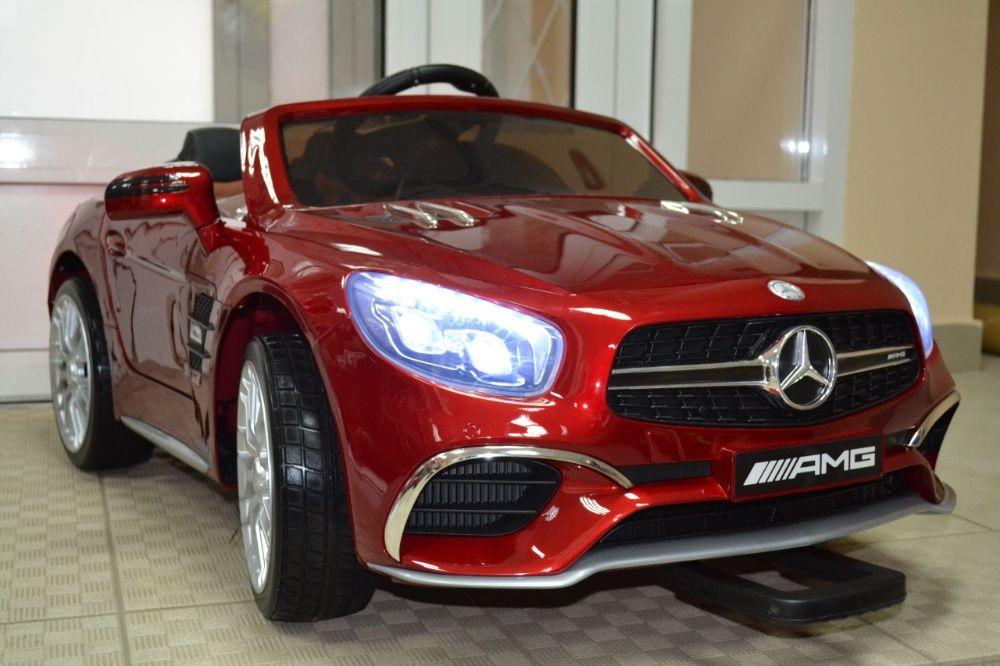 Акумулаторна кола Mercedes SL65 с MP4/дисплей12V с меки гуми гр. София - image 11
