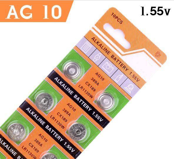 [-50%] Baterii alcaline AG10 / LR1130 -Li-Mn - 1.5v (lumini bicicleta)
