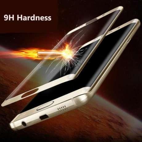 Folie Sticla Curbata 3D Samsung S6Edge Plus