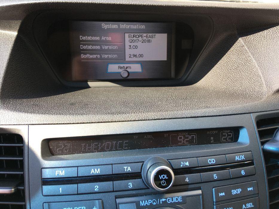 Навигационен диск HONDA NISSAN INFINITI диск навигация последни версии