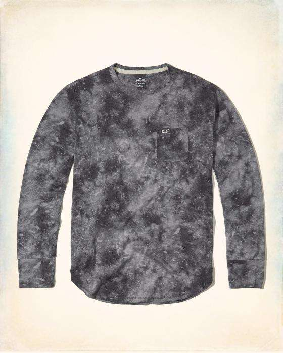 Bluza Hollister by Abercrombie & Fitch gri mas L-reducere finala!!