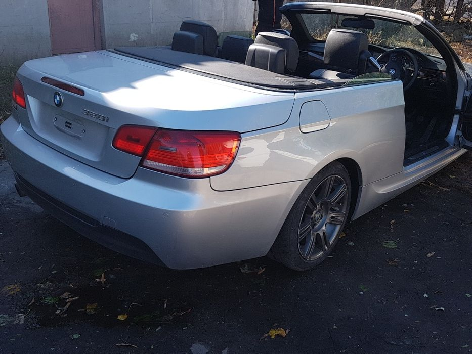 Bmw e93 cabrio/capota /bara spate/usa /interior