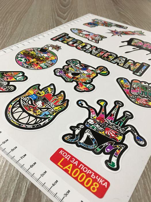 Стикери Sticker Бомб BOMB 13 бр. СУПЕР качествени PVC фолио стике гр. Стара Загора - image 9