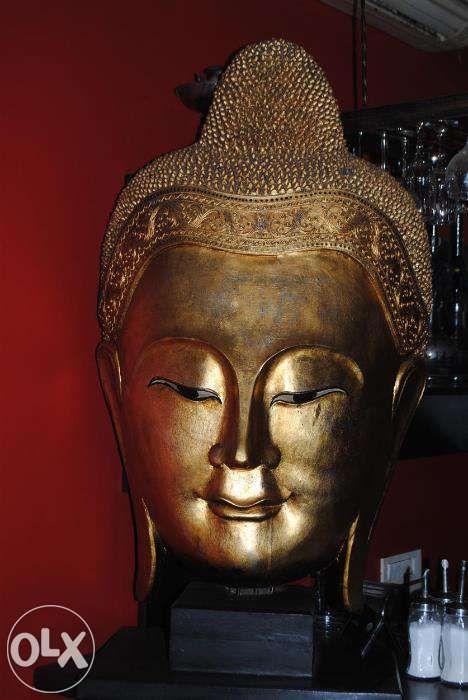 sculptura cap buddha