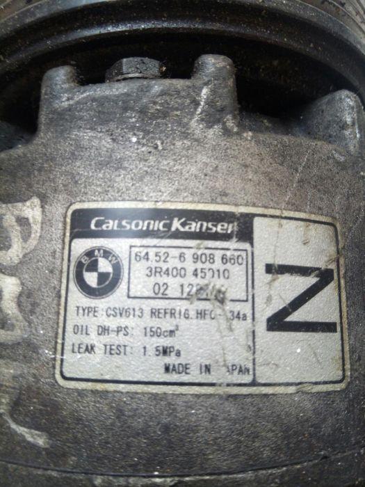 Compresor AC CALSONIC KANSEI 64.52-6908660 BMW SERIA3 E 46 316I,318I