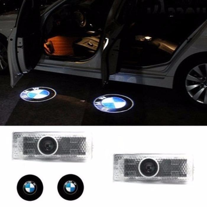 Lumini de usi LED Logo Holograma BMW proiectoare dedicate portiere