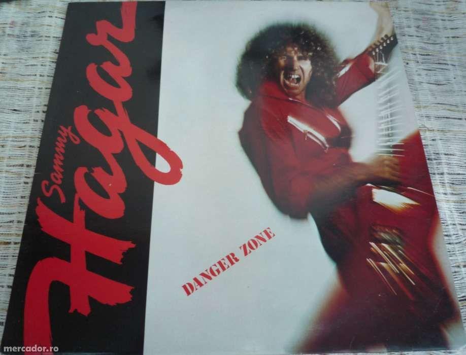Sammy Hagar - Danger Zone LP disc vinil vinyl muzica rock album