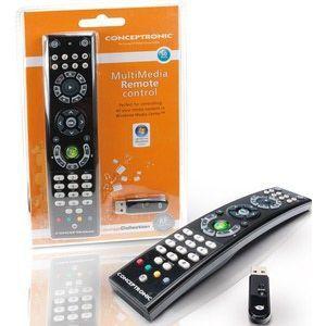Controle remoto Multimedia para PC, Laptop e TV Concetronic