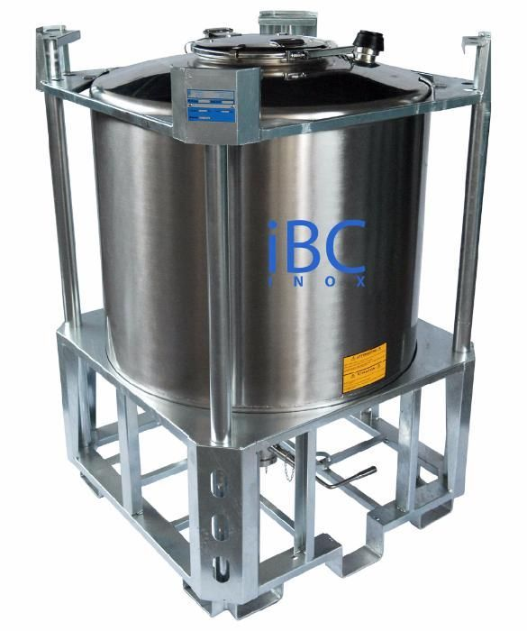 Rezervor inox superpozabil - 1000 litri