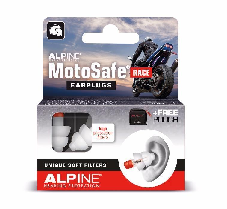 Тапи за уши с филтри Alpine MotoSafe® Race