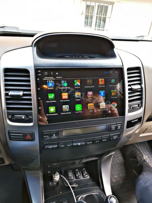 Автомагнитола Андроид Toyota Land Cruiser Prado 120 DSK/RedPower