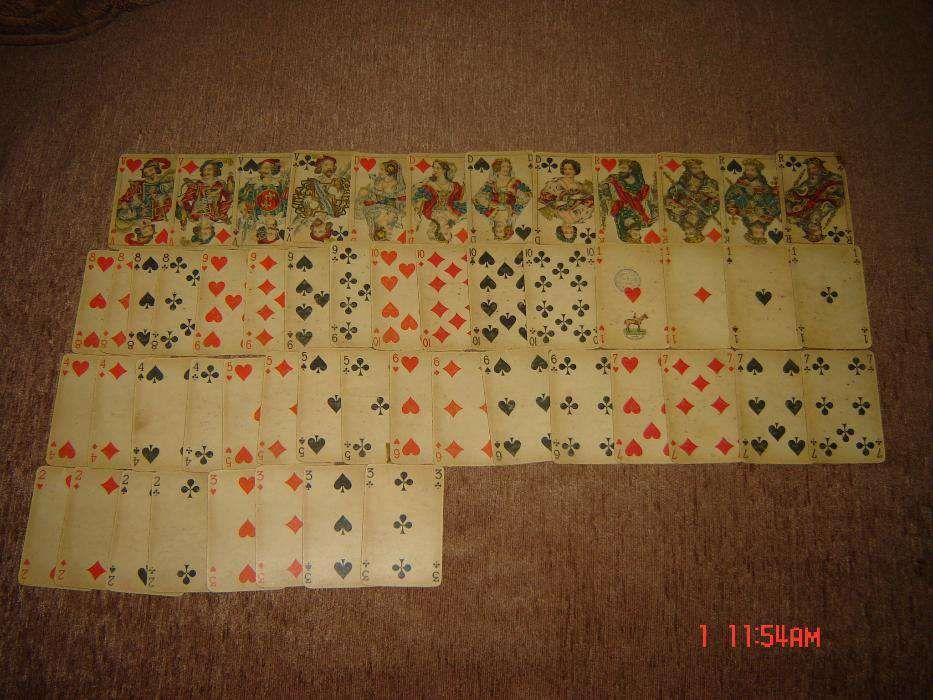 Carti de joc anii 70 de colectie