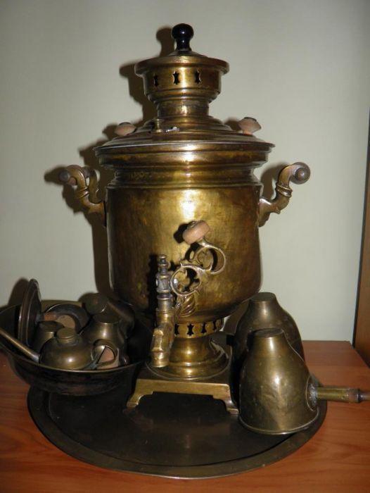 samovar rusesc original 1906-1907