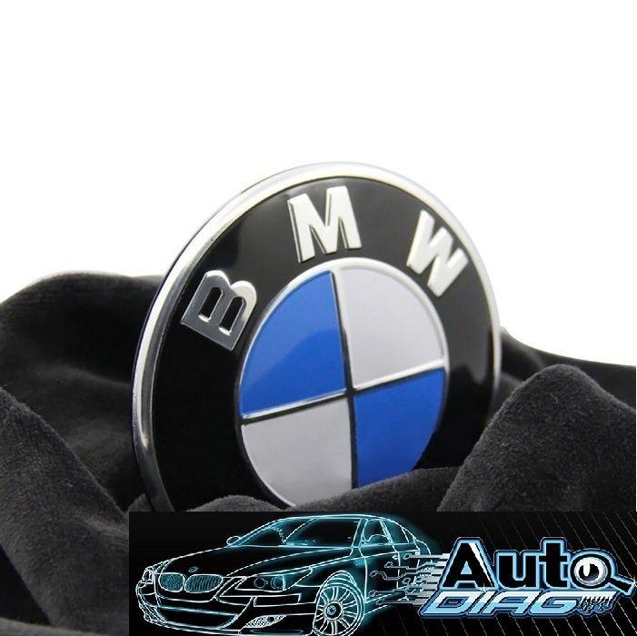Емблема за БМВ/BMW - 82мм - ОРИГИНАЛНА Немска!!!