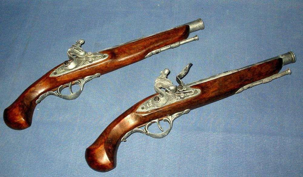 Idee de cadou !!! Pistol medieval / Obiect de decor pt pensiune,cabana