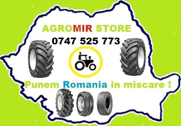 Anvelope 11.2 28 BKT noi cu garantie 2 ani cauciucuri agricole ieftine Focsani - imagine 8