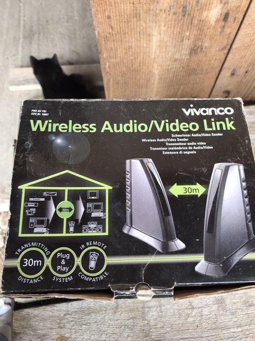 Wireless audio video