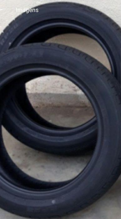 Vendo 4 pneus quase novo 225/45/R17. Os 4 45 mil kzs
