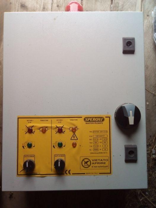 Tablou electric si atomatizare pt pompe sumersibile