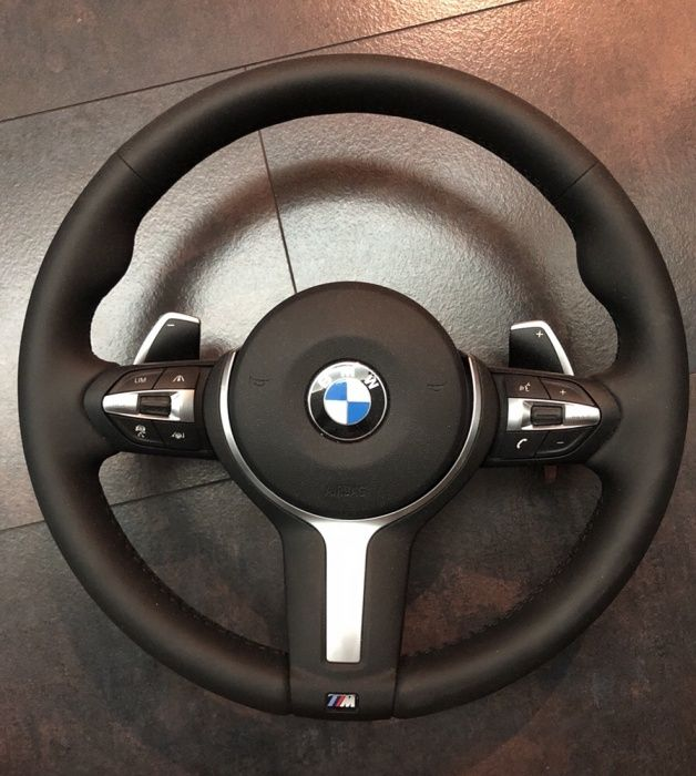 Volan M sport BMW F15 F16 incalzire,padele,vibratii,acc,traffic jam