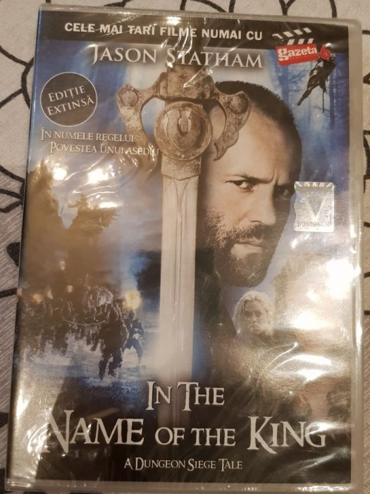 Dvd In The Name Of The King nou sigilat