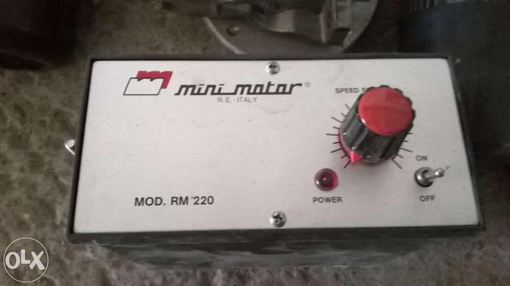 Regulator turatie MiniMotor