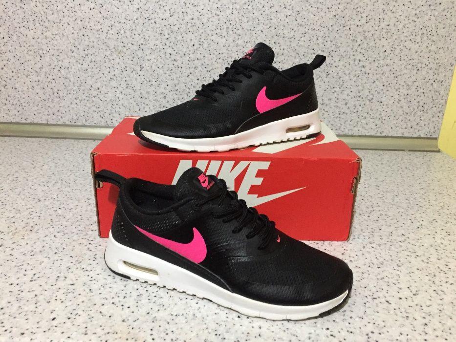 ОРИГИНАЛНИ *** Nike Air Max Thea Gym Black & Purple